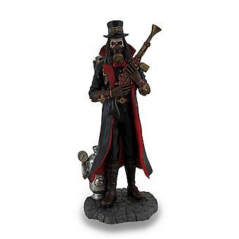 Estatua de fantasía Steampunk parca de pintado a mano