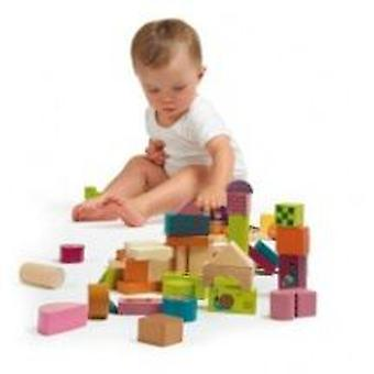 Oops Happy Building Blocks Wooden Toys (Toys , Preschool , Constructions)