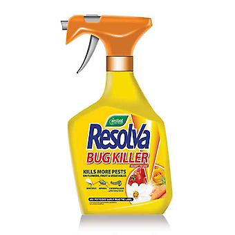 Resolva Rtu Bug Killer With Lambda-cyhalothrin 1ltr (Pack of 6)
