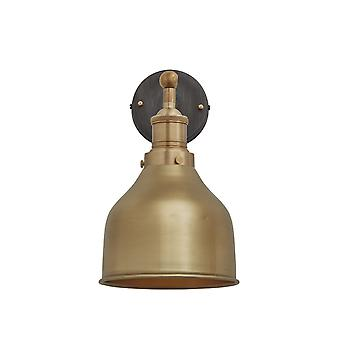 Brooklyn Vintage Antique Sconce Wall Lamp - Cone - Brass - 7