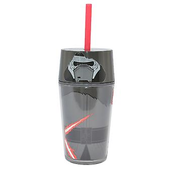 Star Wars Kylo Ren Flat Top Tumbler