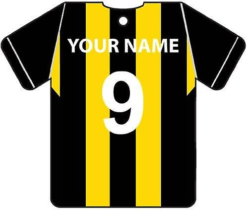 Personalised Berwick Rangers Football Shirt Car Air Freshener