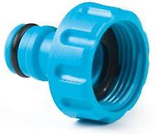 1inch BSP Hozelock Compatibile Threaded Tap Connector With Hose End Connector