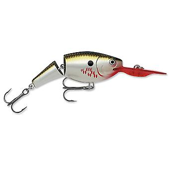 Rapala Jointed Shad Rap 04 Fishing Lure - Bleeding Olive Flash