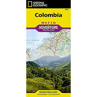 Colombia Travel Maps International Adventure Map (National Geographic Adventure Travel Maps) (Map) by National Geographic Maps