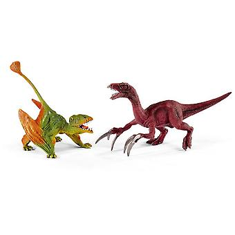 Schleich Dimorphodon And Therizinosaurus, Small