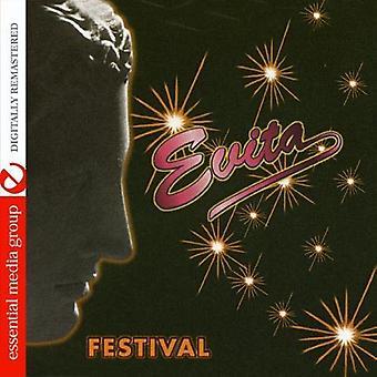 Festival - Evita [DVD] USA importere