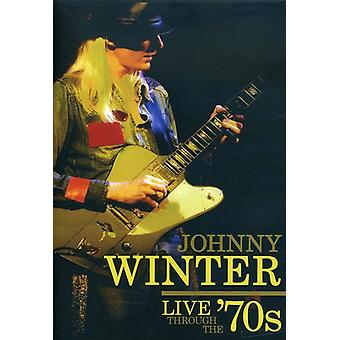 Johnny Winter - Live Through the '70s [DVD] USA import
