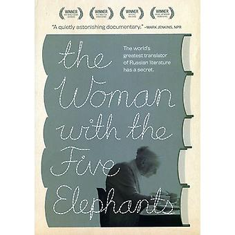 Kvinde med fem elefanter [DVD] USA importerer