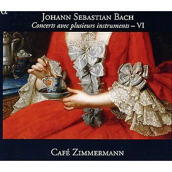 J.S. Bach - Bach: Koncerter Avec Plusieurs instrumenter, Vol. 6 [CD] USA import