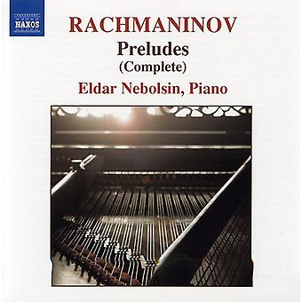 S. Rachmaninoff - Rachmaninov: Preludes [CD] USA import