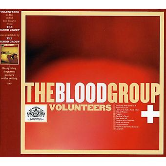 Blood Group - Volunteers [CD] USA import