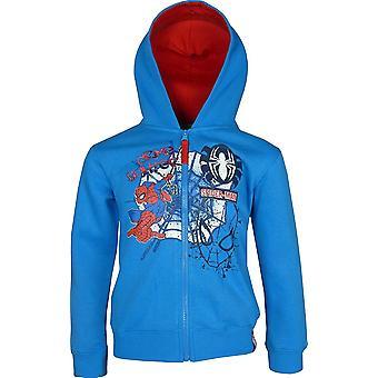 Marvel Spiderman Full Zip Hooded SweatshirtHoodie PH1063