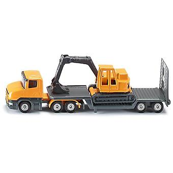 Siku Low Loader With Excavator