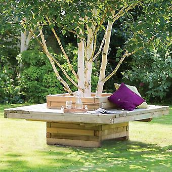 Zest 4 Leisure Lucy Planter Wooden Bench