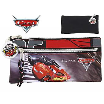 Safta Cars Portatodo Dos Cremalleras 22X11 (Toys , School Zone , Pencil Case)