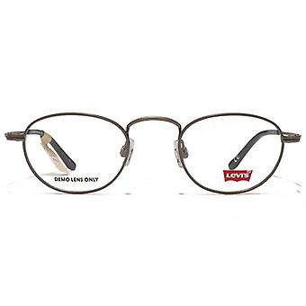 Levis Metall Runde Brille In Gunmetal