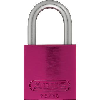 ABUS Love Arch Aluminum lock Hardened Steel 40MM 72Ll / 40 Lila