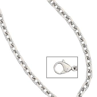 Anchor chain stainless steel 80 cm necklace chain carabiner