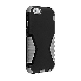 Verizon Rugged Shock Absorbent Case for iPhone 6 Plus/6s Plus - Black/Gray