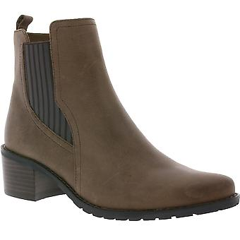 CAPRICE ankle boots ladies leather ankle boots Brown