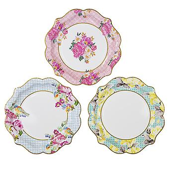 Talking Tables Truly Scrumptious Medium Paper Plate x 12