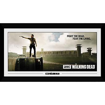 The Walking Dead Gefängnis Sammler Print 50x100cm