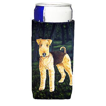 Delta Airedale Terrier Ultra bevanda isolatori per lattine slim