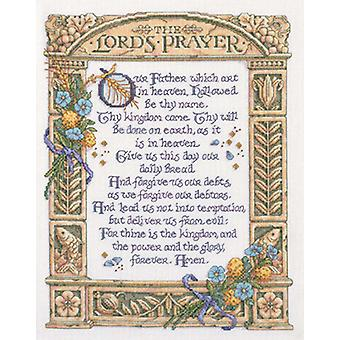 Lord's Prayer Counted Cross Stitch Kit 11 1 4
