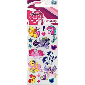 3 x Quality Sticker Sheets | MY LITTLE PONY FOIL | Party Bags & Decoration