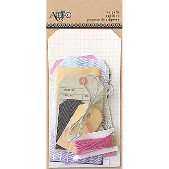 Art-C Tag Pack Kit 16 Pieces-Word ACCTP-27381