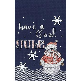 Cool Yule Counted Cross Stitch Kit-5