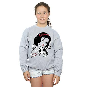 Disney Girls Princesses Snow White Glitter Sweatshirt