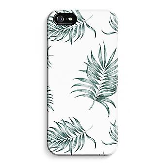 iPhone 5C Full Print Case (Glossy) - Simple leaves
