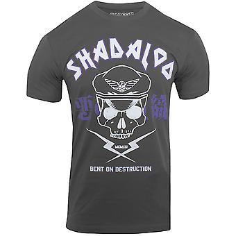 Capcom Psycho Power World Tour Premium utrustade T-Shirt-asfalt