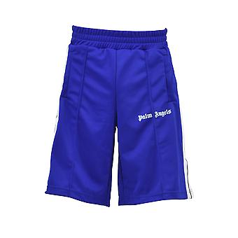 Palm Angels men's PMCB011S183840083001 Blau polyester shorts