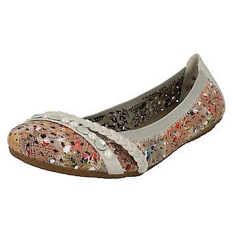 Ladies Rieker Flat Slip On Shoes 41458