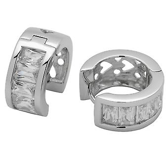 Carlo Monti creole sterling-silver 925 JCM1032-221
