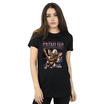 Gremlins Women's Spike Montage Boyfriend Fit T-Shirt