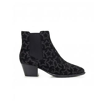 Ash Footwear Suede Star Pointed Chelsea Boots