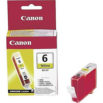 Canon Ink BCI-6Y Original Yellow 4708A002