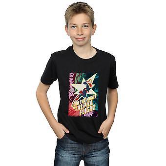 Wonder Boys Captain Marvel Alpha vlucht T-Shirt