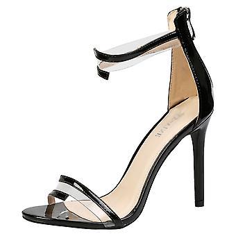Stella para mujer alta del talón de estilete tobillo correa de las sandalias