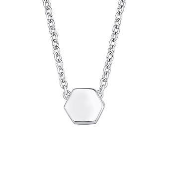 s.Oliver драгоценность дамы ожерелье серебро цирконий SO PURE шестигранник 2017141