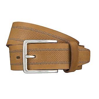 LLOYD Men's belt belts men's belts leather belt sludge 4030