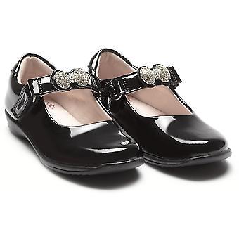 Lelli Kelly Mandy LK8304 veränderbar Gurt Schule Schuhe F Fitting