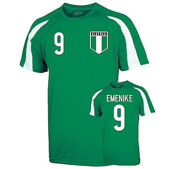 Nigeria Sports Training Jersey (emineke 9)