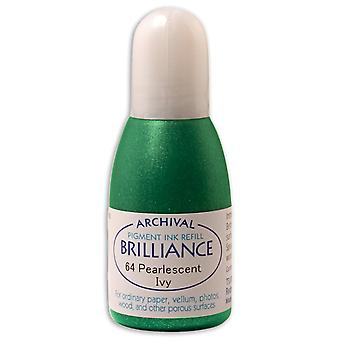 Brilliance Ink Refill .7oz-Pearlescent Ivy