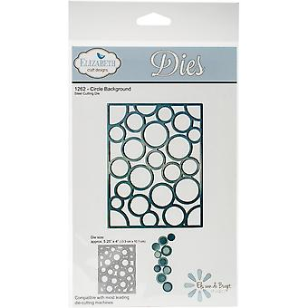 Elizabeth Craft Metal Die-Circle Background, 5.25