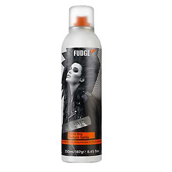 Fudge de chocolate grande Pense grande textura Spray